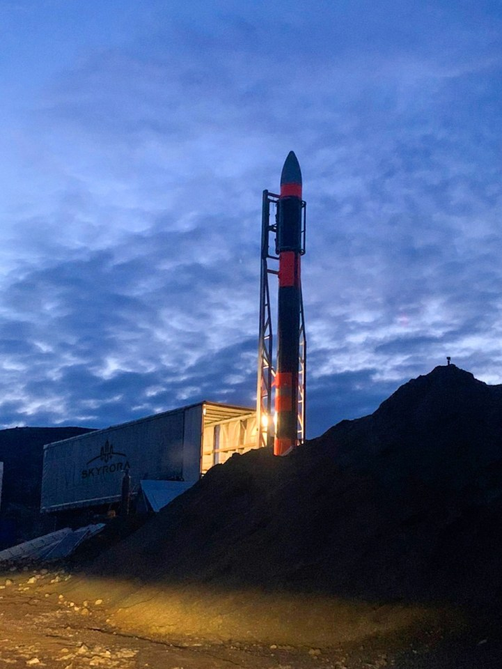 The rocket could be ready to launch from a British spaceport by next spring