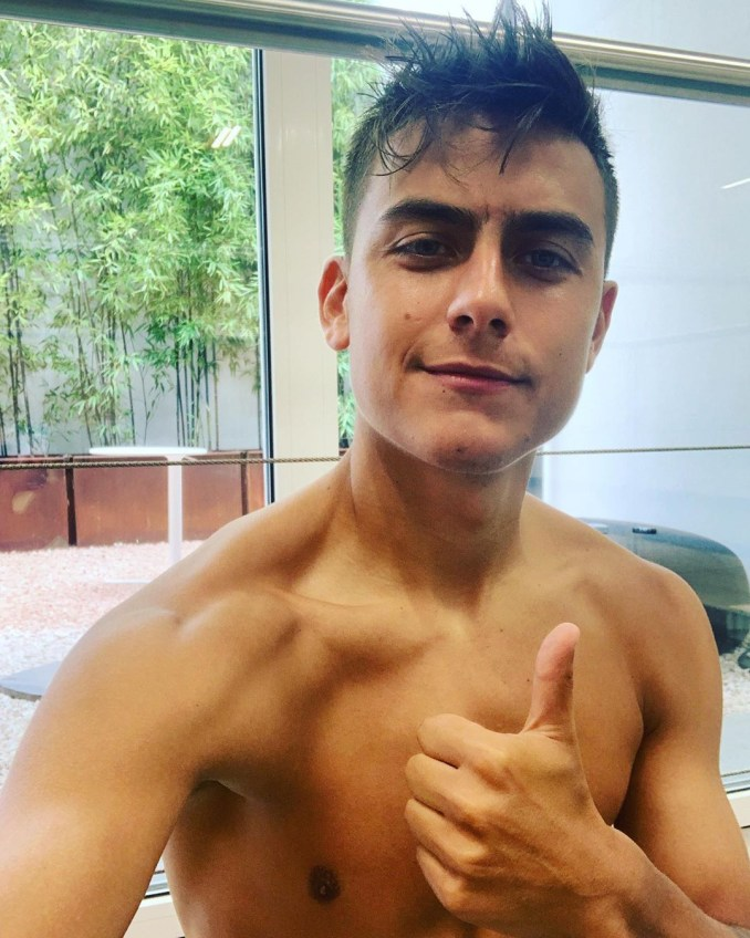 Paulo Dybala's boyish good looks earned him sixth spot on the list