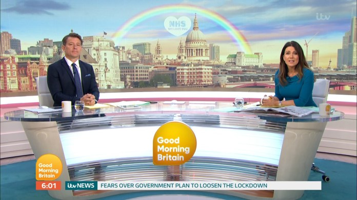 Ben joked that he couldn't wait for Piers to return to work