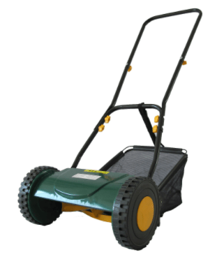 This hand-push lawn mower from B&Q was the cheapest we found