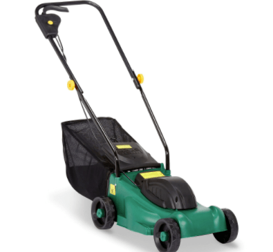 The cheapest rotary mower also came from B&Q