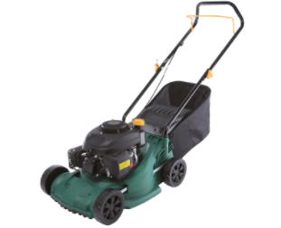This model from B&Q runs off petrol and costs £130
