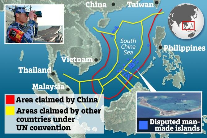 China uses coronavirus crisis to assert control of vital South ...