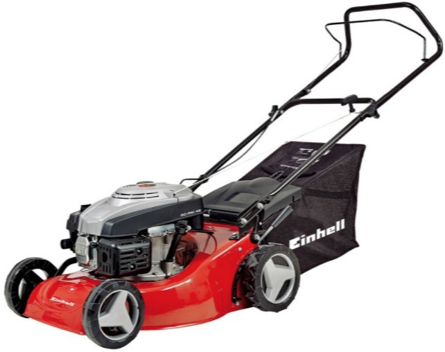 This Einhell model has a bigger engine compared to the B&Q model