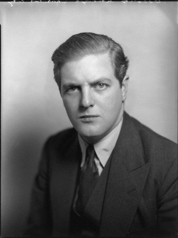 Randolph Churchill was Winston Churchill's first and only son