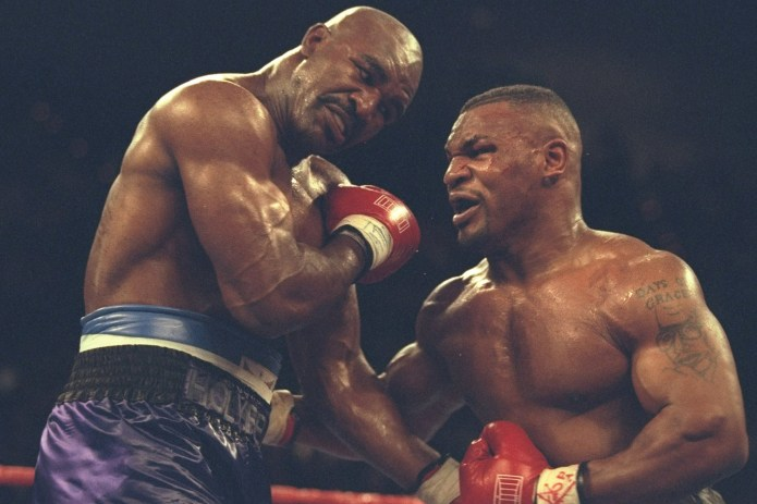 Evander Holyfield - who beat Tyson twice in the 1990s - is considered a potential opponent