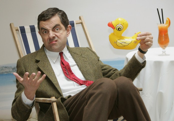 Mr Bean is portrayed by comedy legend Rowan Atkinson