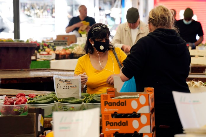 Leicester market reopened on June 1
