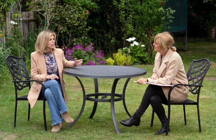 Kate speaks exclusively to Jane Moore of Sun On Sunday