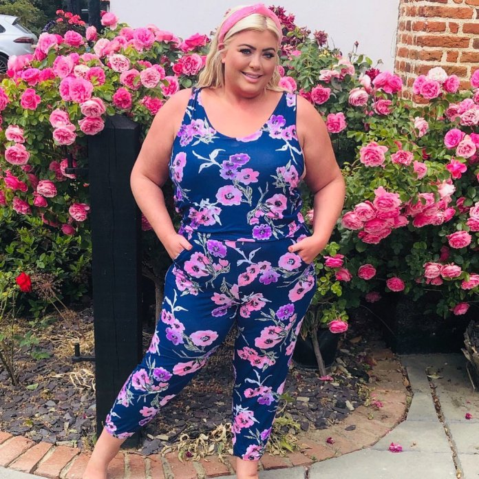 Gemma Collins receives weight loss shots to help reduce