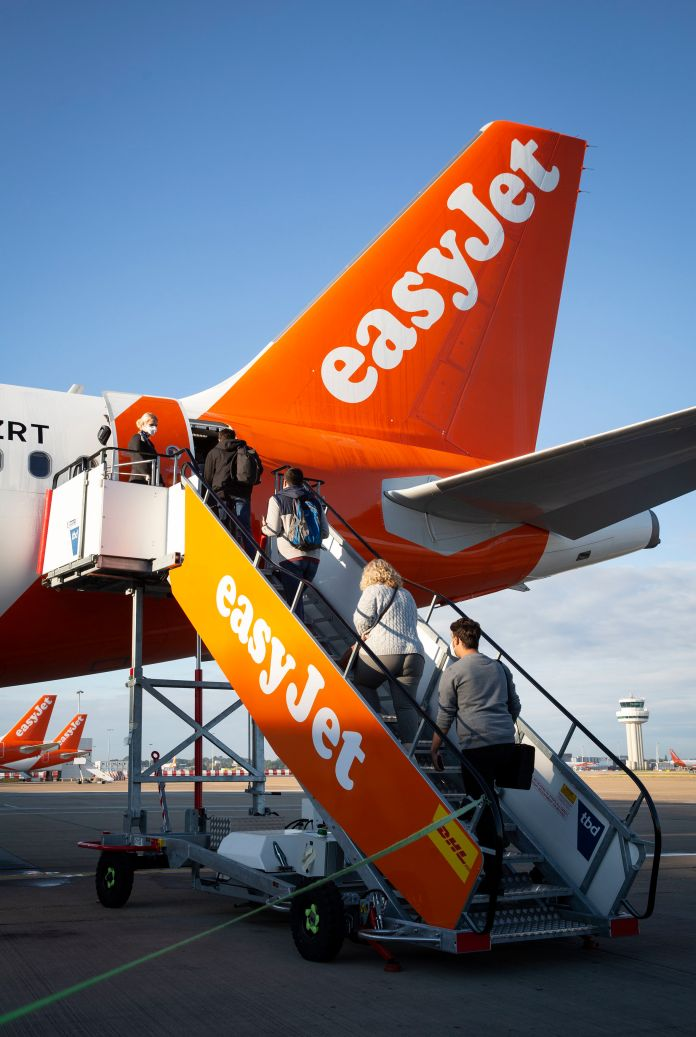 EasyJet announced it will sack up to 4,500 staff