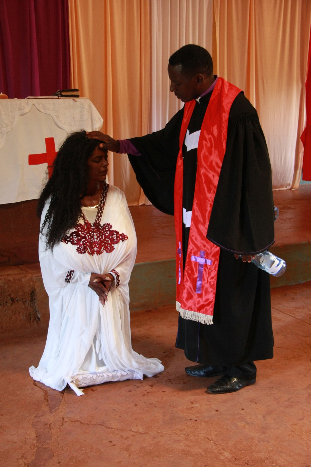 Martina is also known as Malaika Kubwa following her baptism