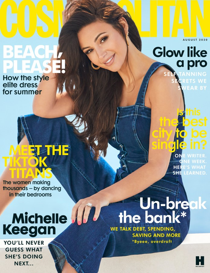 Michelle reveals all in the August issue of Cosmopolitan UK