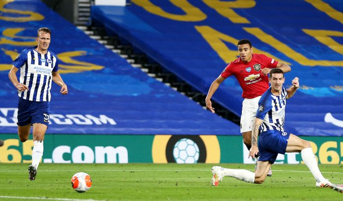 Mason Greenwood got the Red Devils off to a flyer on the South Coast early doors