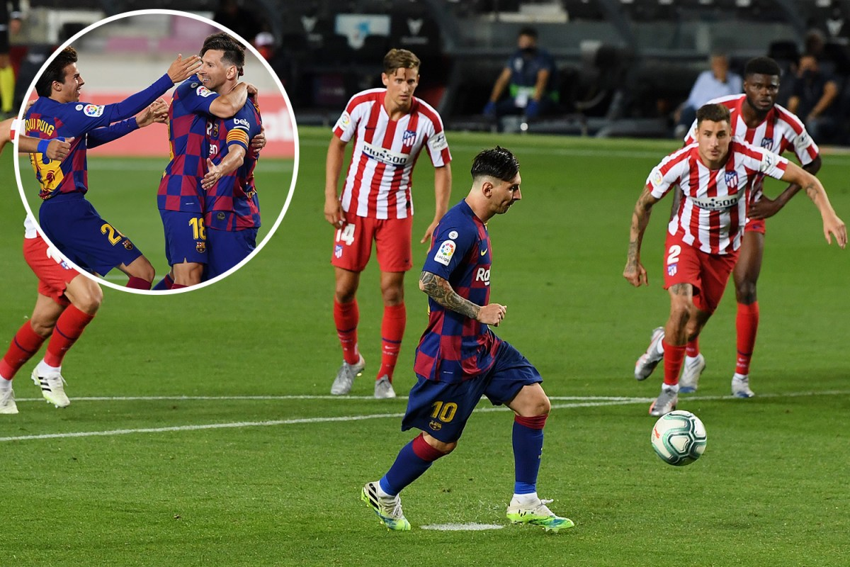 Watch Messi Score 700th Goal With Panenka Vs Atletico