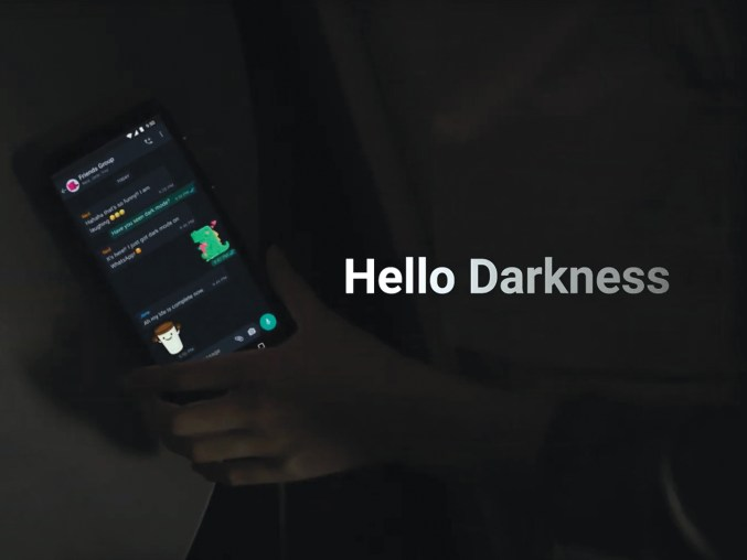 Facebook-owned WhatsApp has already had Dark Mode for a while