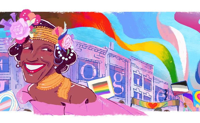 Marsha P Johnson Celebrated By Google Doodle Who Was The