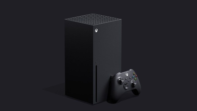 The Xbox Series X has a tall, boxy design that's markedly different from previous models