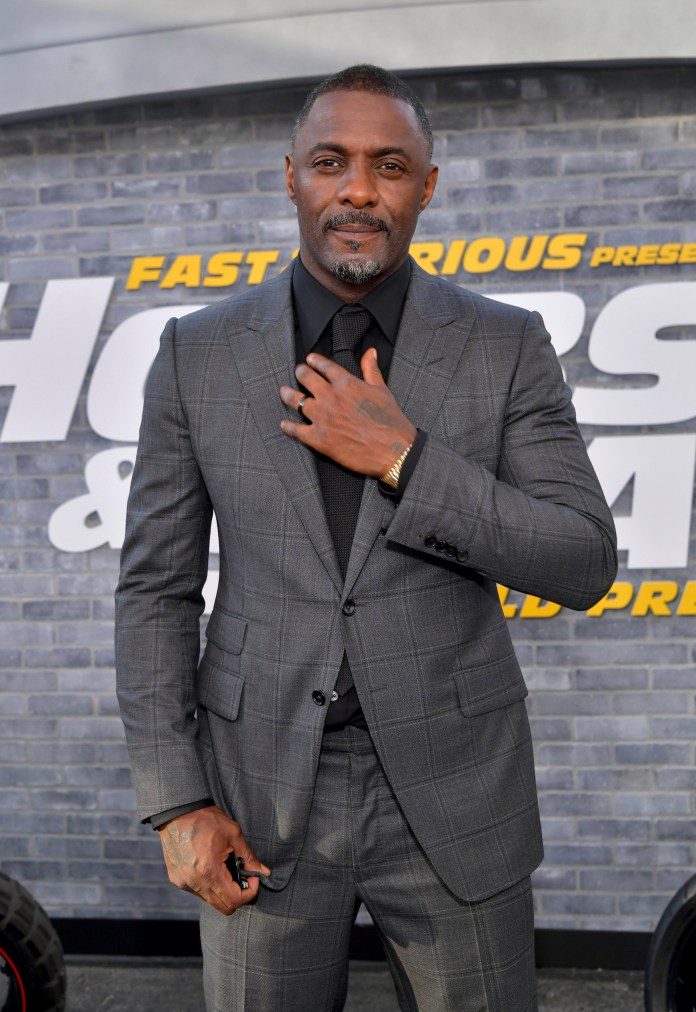 Idris Elba says he grew up thinking to be successful