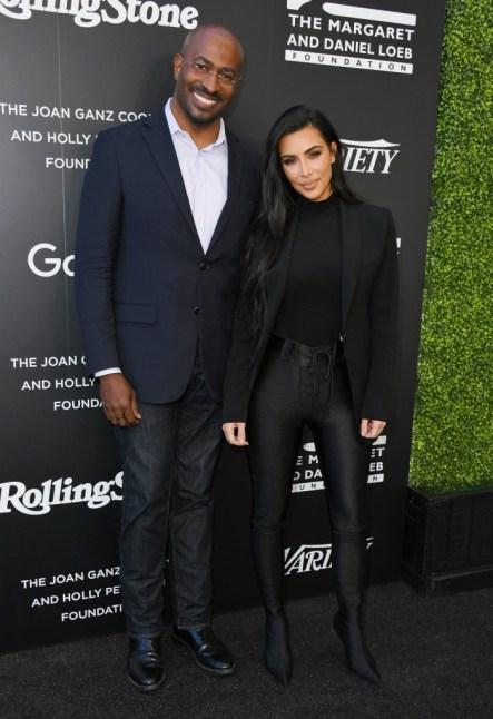 Kim with Van Jones at the inaugural Criminal Justice Reform Summit