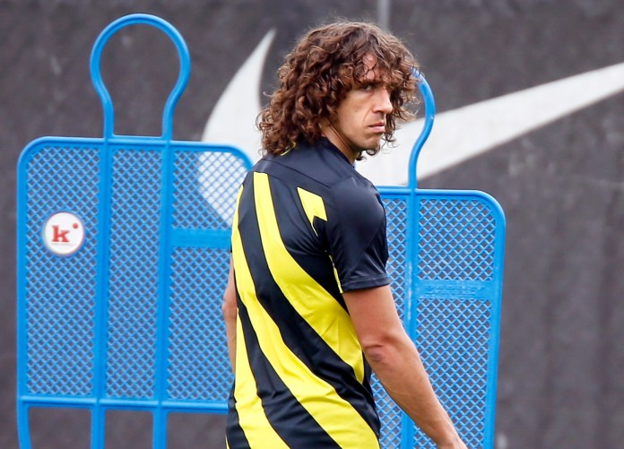Barcelona legend Carles Puyol ironically convinced Garcia to stay in City