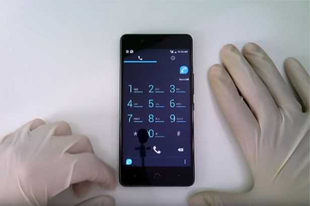 The discovery of the torture chamber was made by cops investigating leads generated from encrypted phones