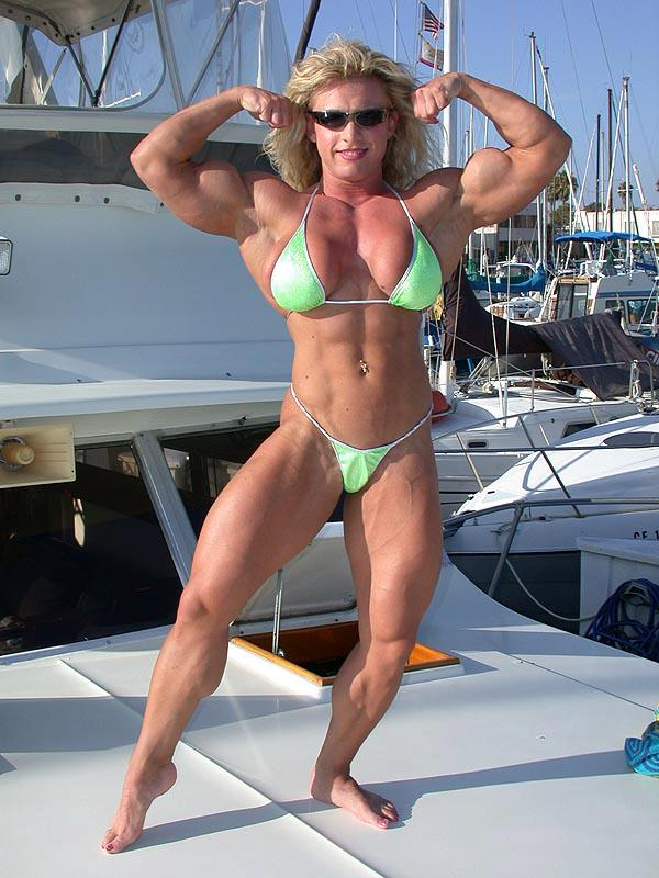 Her bodybuilding career spanned over a decade
