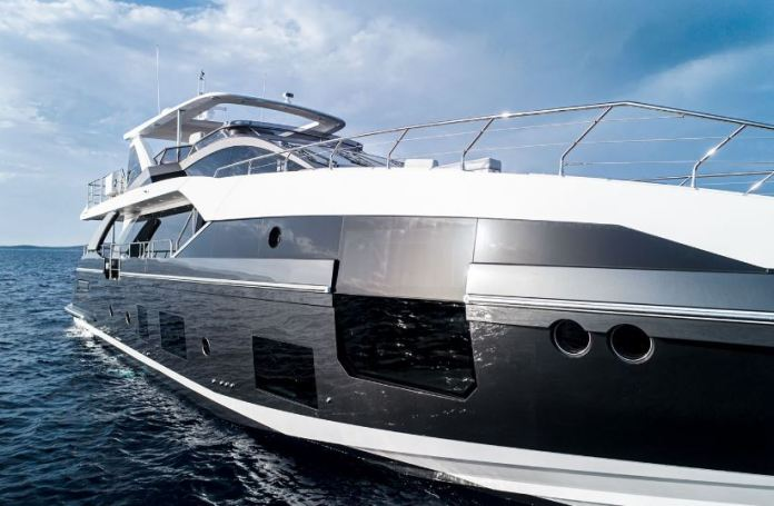 The Azimut Grande stands out at 88-feet long