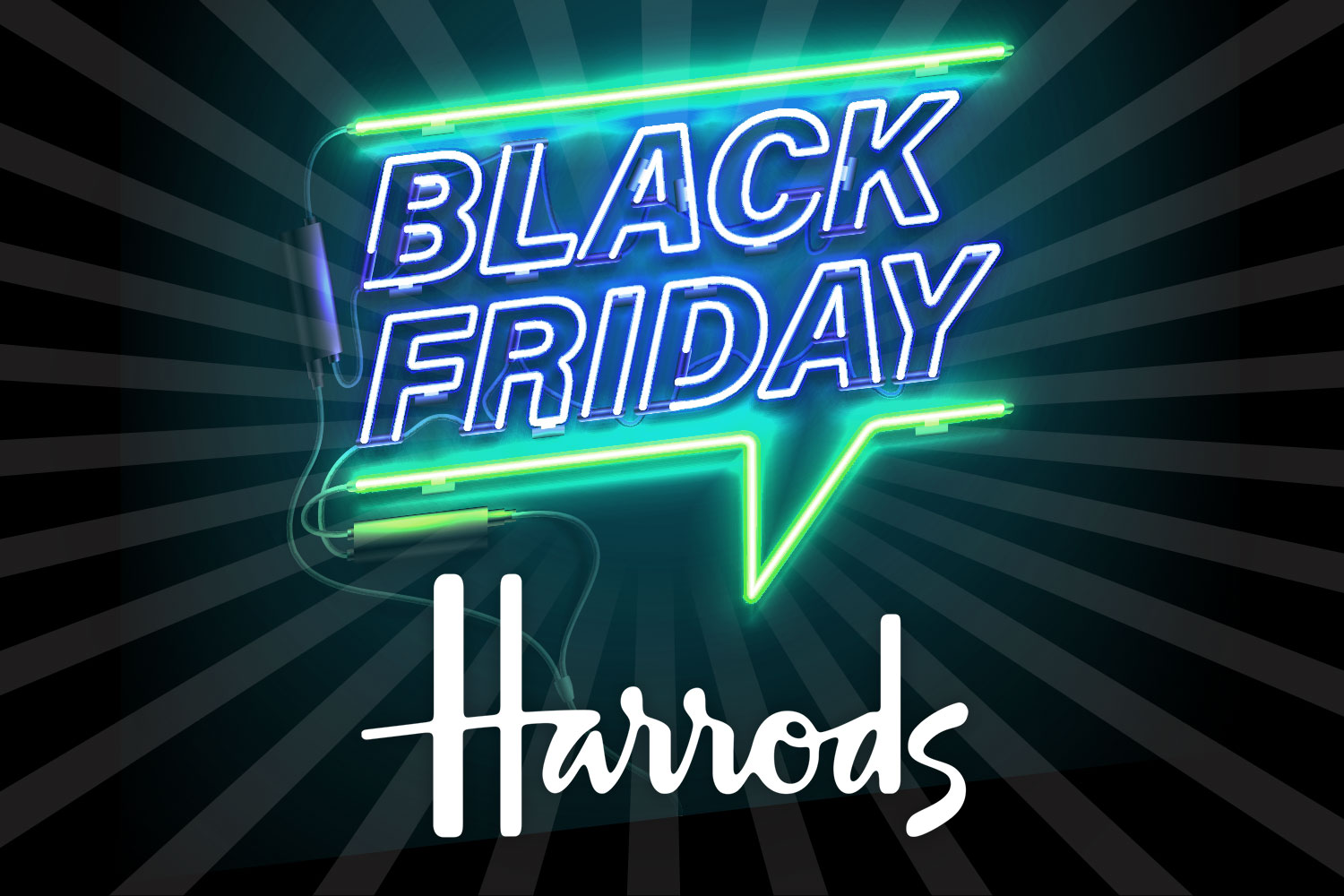 Harrods doesn't usually take part in Black Friday