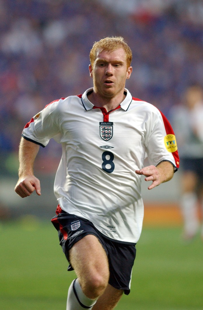 Scholes retired in 2013 and is part owner of Salford City FC