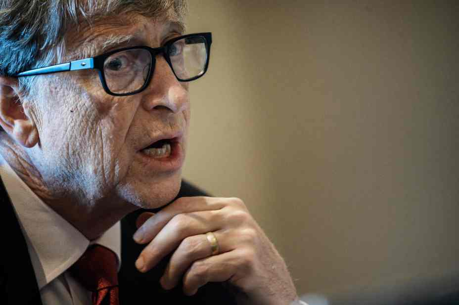 Microsoft founder Bill Gates was one of a number of famous people to have their Twitter accounts hacked by the group