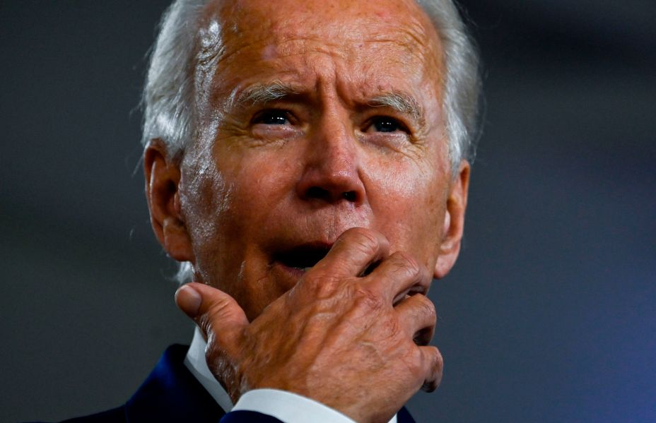Joe Biden, the Democrat presidential hopeful, also saw his Twitter account targeted by the scammers