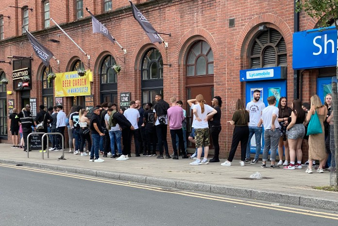 Manchester has seen restrictions reintroduced after worrying increase in infections