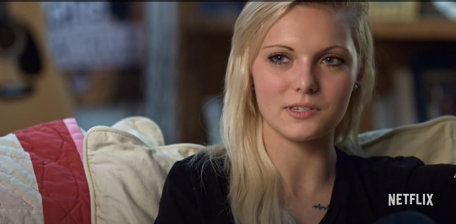 Daisy appeared in the 2016 Netflix documentary Audrie and Daisy