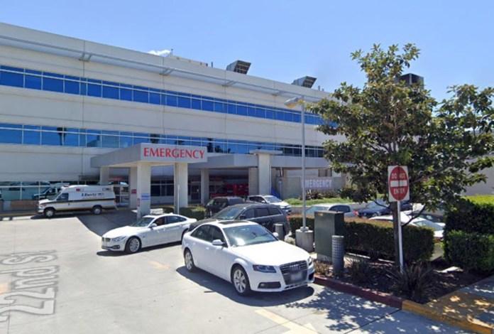 Simon was rushed to Providence Saint John Hospital in Santa Monica