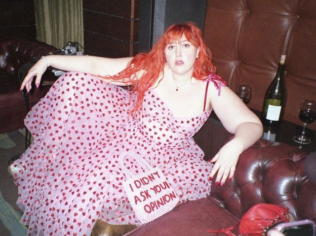 Honey loves a night out with pals in London