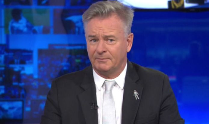 Former Arsenal star Charlie Nicholas received his marching orders