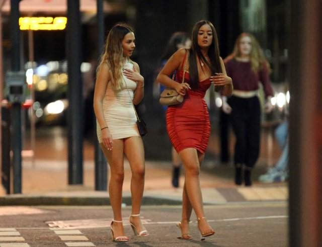 Girls going out and enjoying Leeds' post-lockdown nightlife