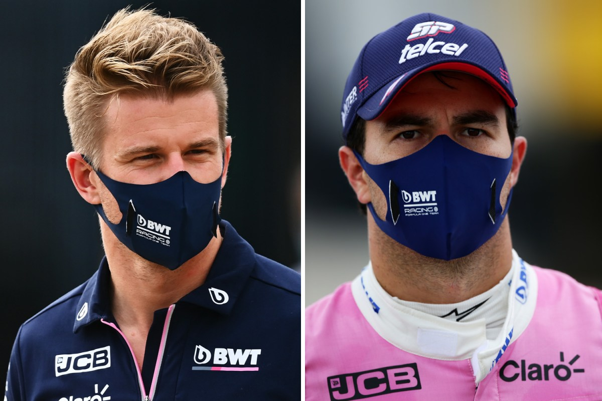 Perez Tests Positive For Covid 19 Again With Hulkenberg To