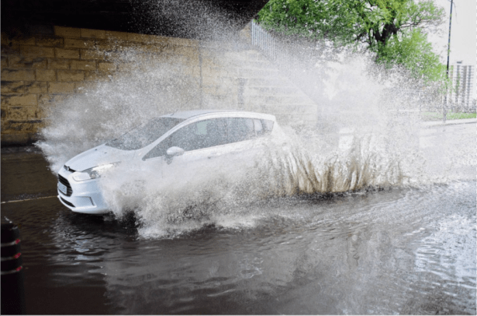 Cornwall's roads are under water as locals brace for worse weather
