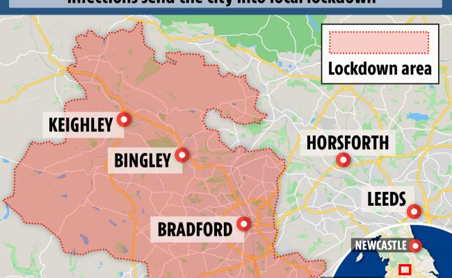 Bradford Lockdown Map What Are The New Lockdown Rules