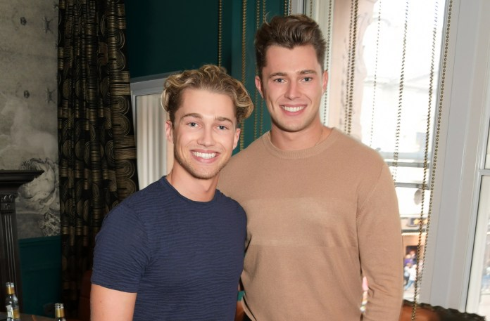 AJ, pictured with his brother Curtis, is desperate to show off his personality and prove he's more than a good dancer