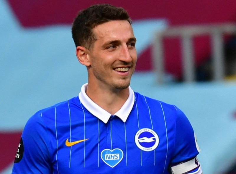 Chelsea are closing in on a £40m move for Brighton's Lewis Dunk