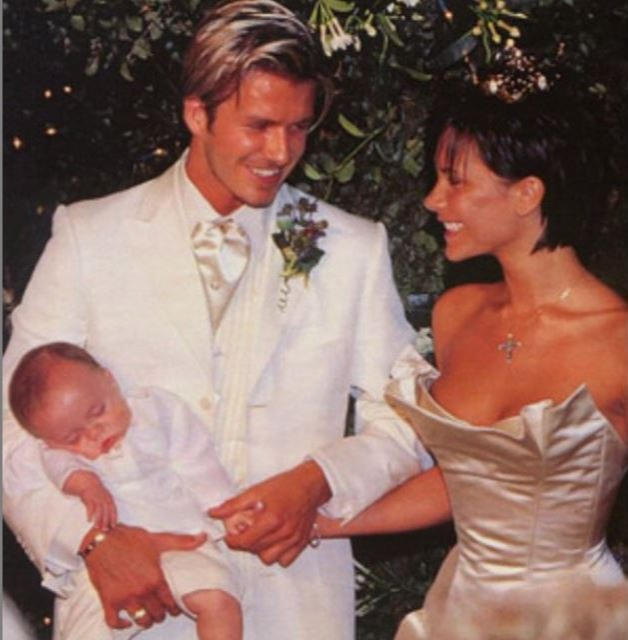Posh and Becks tied the knot on July 4, 1999 - just 11 days before United played Australia in Melbourne