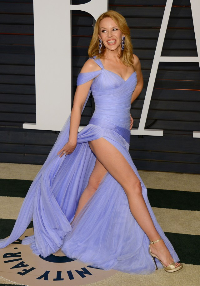Kylie Minogue's legs are longer than the 'perfect' ratio