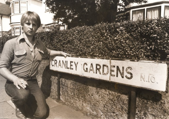 Carl Stotter pictured at Cranley Gardens in London