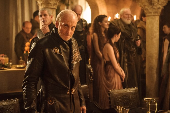 Charles as the villainous Tywin Lannister in Game Of Thrones
