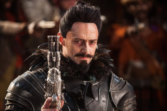 Blackbeard has been portrayed in film on a number of occasions, including by Hugh Jackman in 2015's Pan