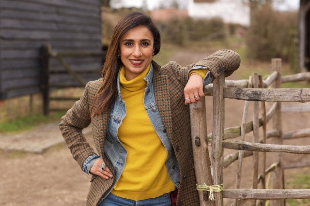Countryfile carried on filming through lockdown, but much of Anita's work was put on hold