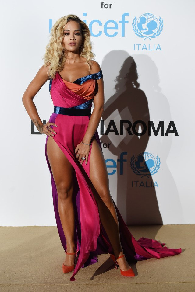 Rita Ora tones her legs with tough workouts